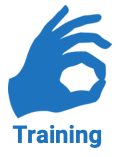 Training icon - OK sign