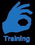 Training icon - OK sign